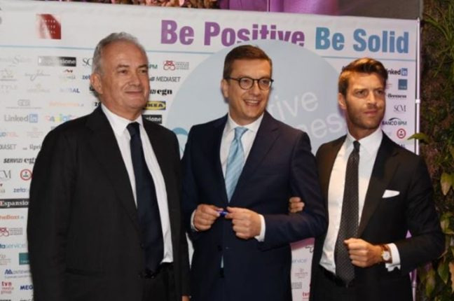 "SCM SIM premiata al ""Positive Business Award"""