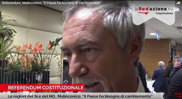 Carlo Malinconico - Referendum Costituzionale