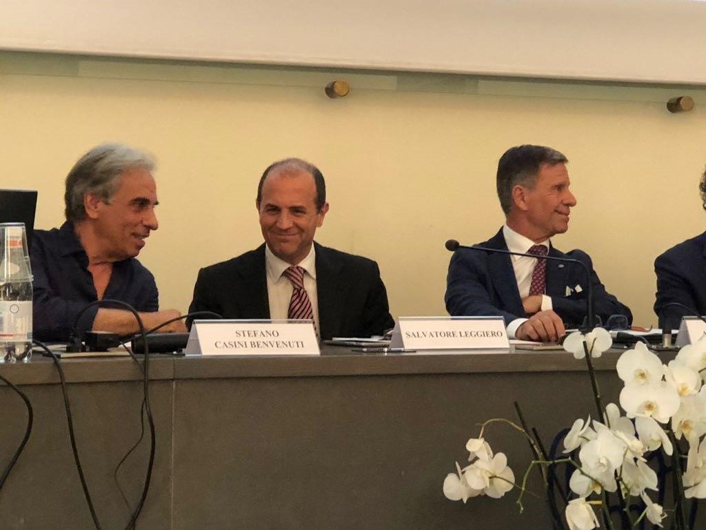 Salvatore Leggiero relatore al convegno di Scenari Immobiliari
