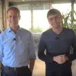 Imprenditori a confronto: Alessandro Benetton visita il Talent Garden di Davide Dattoli