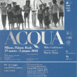 """Federico Motta Editore e Green Cross: gli obiettivi e le peculiarità della mostra """"ACQUA"""""""