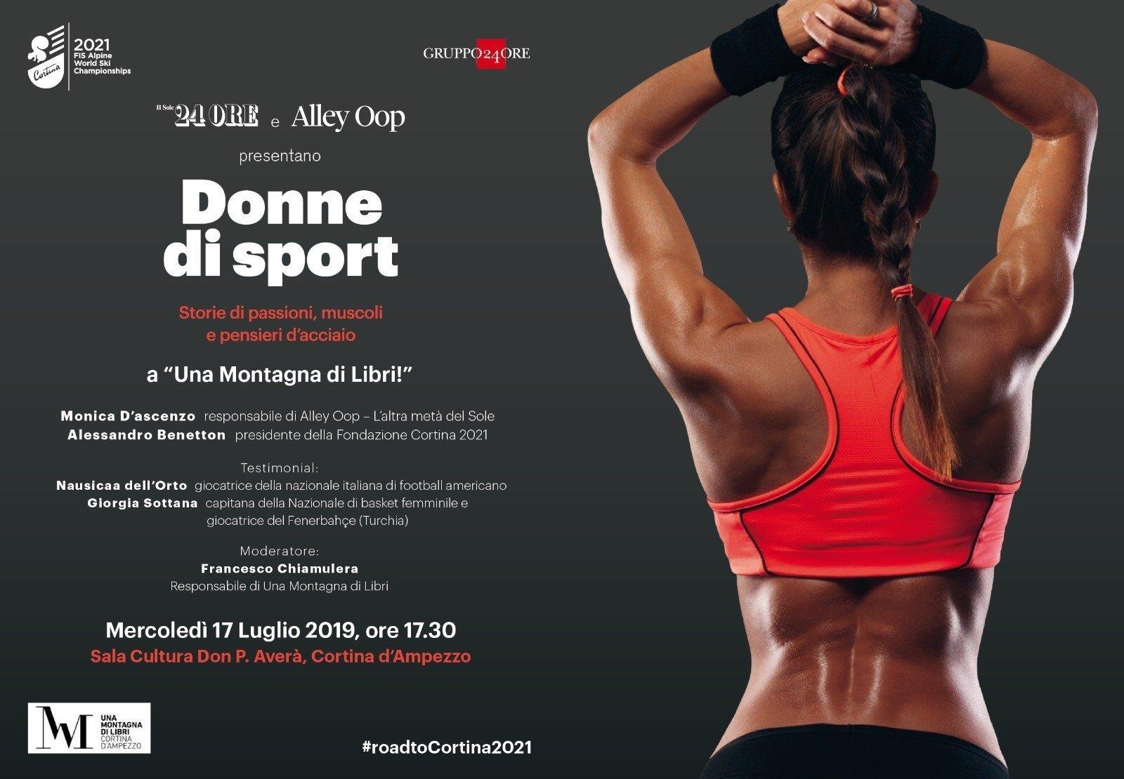 Una Montagna di Libri: Alessandro Benetton e Monica D'Ascenzo raccontano lo sport in rosa